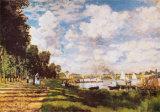 II Bacino Di Argenteuil Pôsteres por Claude Monet