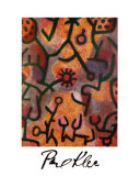 Flora di Roccia Prints by Paul Klee