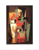 L'Italienne, c.1917 Pôsters por Pablo Picasso