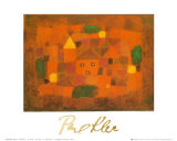 Paesaggio al Tramonto, c.1923 Posters by Paul Klee