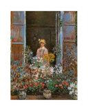 Camille Art by Claude Monet