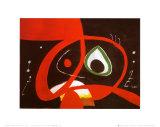 Kopf Prints by Joan Miró