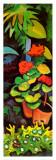 Blumen im Garten (detail) Print by Auguste Macke