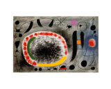 Liebeslied der Vogel Poster by Joan Miró