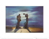 Reminescence Archeologique de l'Angelus de Millet, 1935 Art by Salvador Dalí
