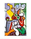 Stilleben mit Birnen und Trauben Poster von Pablo Picasso