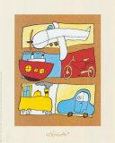 Transportation Prints by Babette Harms
