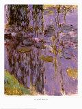 Nympheas Pôsters por Claude Monet