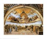 La dispute du Très Saint Sacrement Art par  Raphael