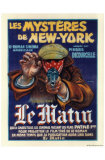 Les Mysteres de New York Posters