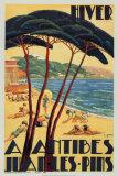 Antibes in Winter, c.1930 高画質プリント : バーナード・デ・ガインホールド