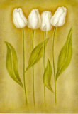 Trittico di tulipani II Poster di Lewman Zaid
