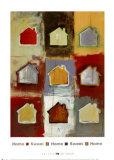 Home Sweet Home Sweet Home I Posters por Niro Vasali