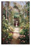 Entrada al jardín Pósters por  Haibin
