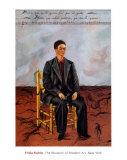 短髪の自画像, 1940 ポスター : フリーダ・カーロ