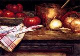 Tomatensuppe Kunstdrucke von Deborah Chabrian