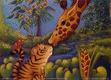 Jungle Love II Poster von Marisol Sarrazin