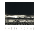 Moonrise, Hernandez Print by Ansel Adams