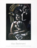 The Loge Poster tekijänä Max Beckmann