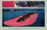 Umhüllte Inseln, 1982 Kunstdruck von  Christo