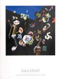 Fleurs de Neige, 1929 Plakater av Max Ernst