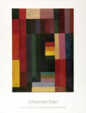 Horizontal/Vertikal Plakater af Johannes Itten