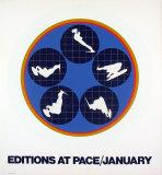Editions at Pace, 1969 Serigrafia por Ernest Trova