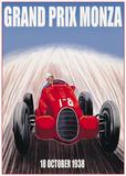 Grand Prix Monza Plakater