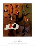 Personnages Rythmiques, 1934 Posters por Joan Miró