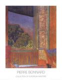 La Fenetre Ouverte, 1921 Láminas por Pierre Bonnard