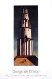 La Grande Torre Affischer av Giorgio De Chirico