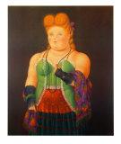 Fint folk flørter Posters av Fernando Botero
