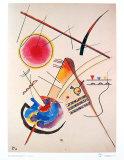 Aquarelle Gastebuch,1925 Kunst von Wassily Kandinsky