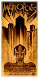 Filmposter Metropolis, 1927 Gicléedruk van  Schulz-Neudamm