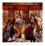 Cafe New York Prints by Didier Lourenco