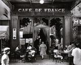 Café de France Poster av Willy Ronis