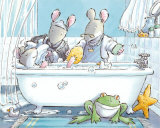 In der Dusche Kunst von Susan Varley