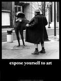 Stelle dich der Kunst Poster von M. Ryerson