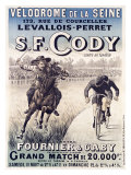 S.F. Cody vs. Fournier and Gaby Stampa giclée