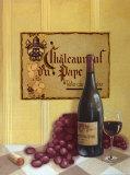Châteauneuf du Pape Posters par David Marrocco