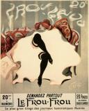 Le Frou - Frou Posters av Lucien-Henri Weiluc
