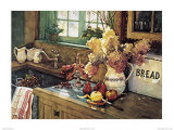 Äpfel und Hortensie Kunst von Deborah Chabrian