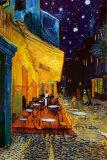 Terrasse de café le soir, place du Forum, Arles, 1888, Affiches par Vincent van Gogh