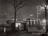 Night Time Coffee, London Print