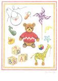 Bear Poster by Karyn Frances Gray