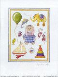 Bunny Print by Karyn Frances Gray