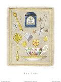 Tea Time Poster von Karyn Frances Gray