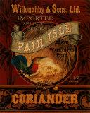 Coriander Prints by Pamela Gladding