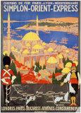 Orient Express Plakater
