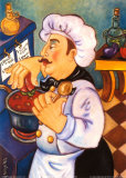 La Salsa Speciale del Chef Posters by Holly Wojahn